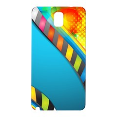 Color Dream Polka Samsung Galaxy Note 3 N9005 Hardshell Back Case by Mariart