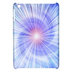 Creation Light Blue White Neon Sun Apple Ipad Mini Hardshell Case by Mariart