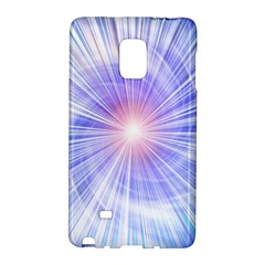 Creation Light Blue White Neon Sun Galaxy Note Edge by Mariart