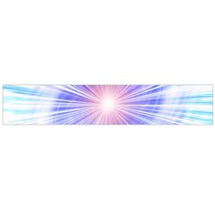 Creation Light Blue White Neon Sun Flano Scarf (large) by Mariart