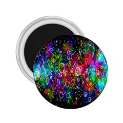 Colorful Bubble Shining Soap Rainbow 2 25  Magnets