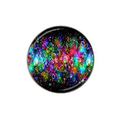 Colorful Bubble Shining Soap Rainbow Hat Clip Ball Marker by Mariart