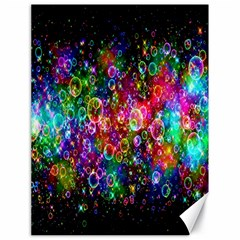 Colorful Bubble Shining Soap Rainbow Canvas 18  X 24   by Mariart