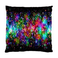Colorful Bubble Shining Soap Rainbow Standard Cushion Case (one Side) by Mariart
