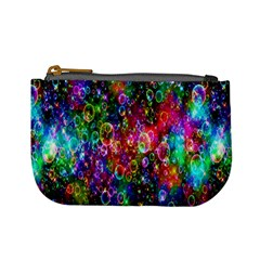 Colorful Bubble Shining Soap Rainbow Mini Coin Purses by Mariart