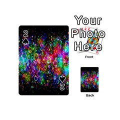 Colorful Bubble Shining Soap Rainbow Playing Cards 54 (mini)  by Mariart