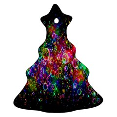 Colorful Bubble Shining Soap Rainbow Ornament (christmas Tree)  by Mariart