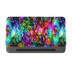 Colorful Bubble Shining Soap Rainbow Memory Card Reader With Cf by Mariart