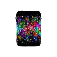 Colorful Bubble Shining Soap Rainbow Apple Ipad Mini Protective Soft Cases by Mariart