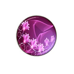 Lotus Sunflower Sakura Flower Floral Pink Purple Polka Leaf Polkadot Waves Wave Chevron Hat Clip Ball Marker (4 Pack) by Mariart