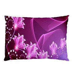 Lotus Sunflower Sakura Flower Floral Pink Purple Polka Leaf Polkadot Waves Wave Chevron Pillow Case (two Sides) by Mariart