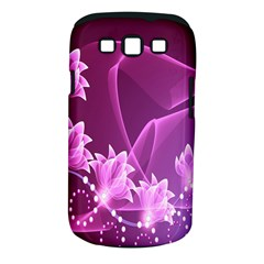 Lotus Sunflower Sakura Flower Floral Pink Purple Polka Leaf Polkadot Waves Wave Chevron Samsung Galaxy S Iii Classic Hardshell Case (pc+silicone) by Mariart
