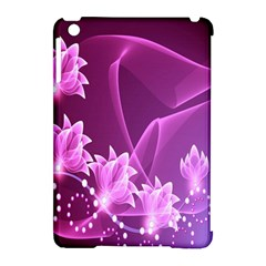 Lotus Sunflower Sakura Flower Floral Pink Purple Polka Leaf Polkadot Waves Wave Chevron Apple Ipad Mini Hardshell Case (compatible With Smart Cover) by Mariart