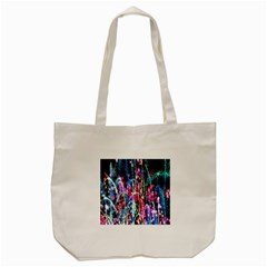 Fireworks Rainbow Tote Bag (cream) by Mariart