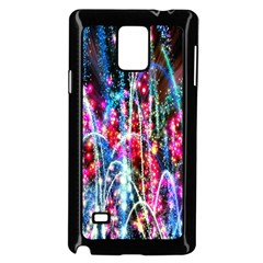 Fireworks Rainbow Samsung Galaxy Note 4 Case (black) by Mariart