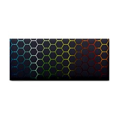 Hexagons Honeycomb Cosmetic Storage Cases by Mariart