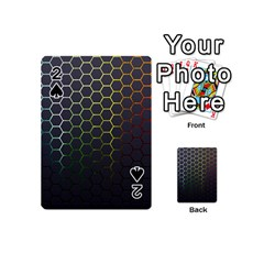 Hexagons Honeycomb Playing Cards 54 (mini)  by Mariart