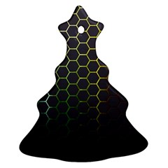 Hexagons Honeycomb Christmas Tree Ornament (two Sides) by Mariart