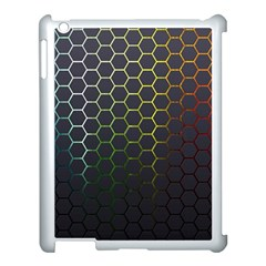Hexagons Honeycomb Apple Ipad 3/4 Case (white) by Mariart