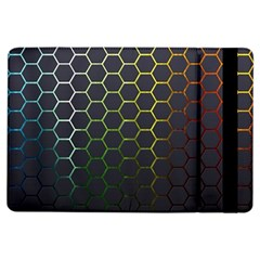Hexagons Honeycomb Ipad Air Flip by Mariart