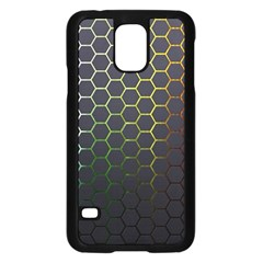Hexagons Honeycomb Samsung Galaxy S5 Case (black) by Mariart