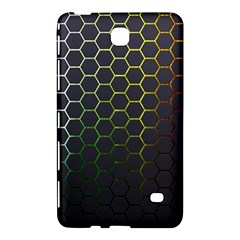 Hexagons Honeycomb Samsung Galaxy Tab 4 (8 ) Hardshell Case  by Mariart