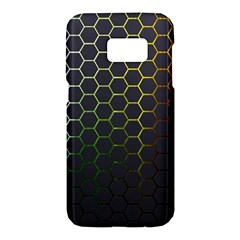 Hexagons Honeycomb Samsung Galaxy S7 Hardshell Case  by Mariart