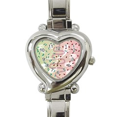 Gut Story Heart Italian Charm Watch by Mariart