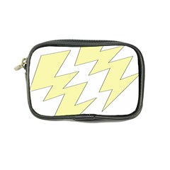 Lightning Yellow Coin Purse by Mariart