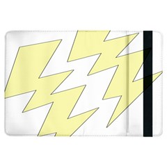 Lightning Yellow Ipad Air Flip by Mariart
