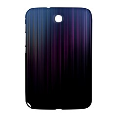 Moonlight Light Line Vertical Blue Black Samsung Galaxy Note 8 0 N5100 Hardshell Case  by Mariart