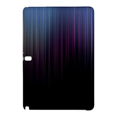 Moonlight Light Line Vertical Blue Black Samsung Galaxy Tab Pro 10 1 Hardshell Case by Mariart