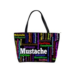 Mustache Shoulder Handbags by Mariart