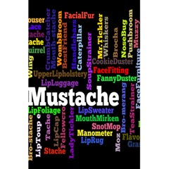 Mustache 5 5  X 8 5  Notebooks by Mariart
