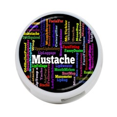 Mustache 4 Port Usb Hub (two Sides)  by Mariart