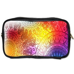 Multi Colour Alpha Toiletries Bags 2 Side by Mariart