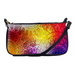 Multi Colour Alpha Shoulder Clutch Bags by Mariart