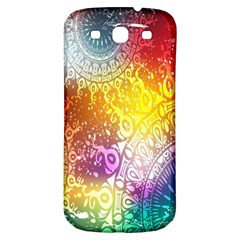Multi Colour Alpha Samsung Galaxy S3 S Iii Classic Hardshell Back Case by Mariart