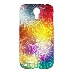 Multi Colour Alpha Samsung Galaxy S4 I9500/i9505 Hardshell Case by Mariart