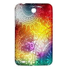 Multi Colour Alpha Samsung Galaxy Tab 3 (7 ) P3200 Hardshell Case  by Mariart
