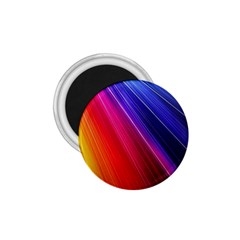 Multicolor Light Beam Line Rainbow Red Blue Orange Gold Purple Pink 1 75  Magnets by Mariart