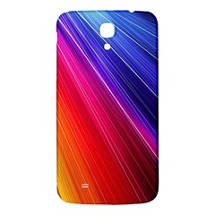 Multicolor Light Beam Line Rainbow Red Blue Orange Gold Purple Pink Samsung Galaxy Mega I9200 Hardshell Back Case by Mariart