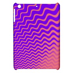 Original Resolution Wave Waves Chevron Pink Purple Apple Ipad Mini Hardshell Case by Mariart