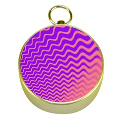 Original Resolution Wave Waves Chevron Pink Purple Gold Compasses by Mariart