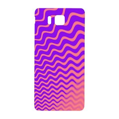 Original Resolution Wave Waves Chevron Pink Purple Samsung Galaxy Alpha Hardshell Back Case by Mariart