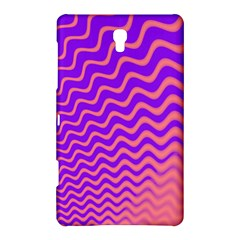 Original Resolution Wave Waves Chevron Pink Purple Samsung Galaxy Tab S (8 4 ) Hardshell Case  by Mariart