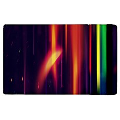 Perfection Graphic Colorful Lines Apple Ipad 3/4 Flip Case by Mariart