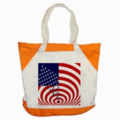 Star Line Hole Red Blue Accent Tote Bag by Mariart