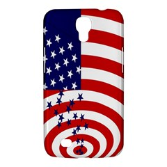 Star Line Hole Red Blue Samsung Galaxy Mega 6 3  I9200 Hardshell Case by Mariart
