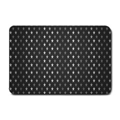 Rabstol Net Black White Space Light Small Doormat  by Mariart